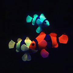 Akváriumdíszek Műhal Gyanta Véletlenszerűen kiválasztott színek