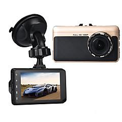 Недорогие Автоэлектроника-A15 Full HD 1920 x 1080 Автомобильный видеорегистратор 140° Широкий угол 3 дюймовый Капюшон с G-Sensor / Режим парковки / Обноружение