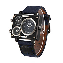 Men's Sport Watch Military Watch Fashion Watch Wrist watch Quartz Fabric Band Casual Multi-Colored