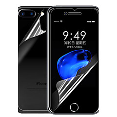 voordelige iPhone 7 Plus screenprotectors-Screenprotector Apple voor iPhone 7 Plus PET 1 stuks Voorkant- & achterkantbescherming High-Definition (HD)