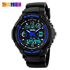 Муж. Наручные часы электронные часы Спортивные часы Армейские часы Модные часы Кварцевый Цифровой Календарь Натуральная кожа Группа