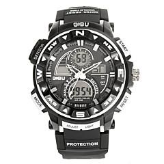 Men's Sport Watch Fashion Watch Wrist watch Digital Watch Quartz Digital Silicone Band Vintage Casual Multi-Colored