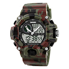Χαμηλού Κόστους Στρατιωτικό Ρολόι-Ανδρικά Αθλητικό Ρολόι Στρατιωτικό Ρολόι Ρολόι Καρπού Ψηφιακό ρολόι Χαλαζίας Ψηφιακό Γιαπωνέζικο Quartz LED LCD Ημερολόγιο Ανθεκτικό στο