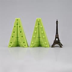 voordelige -Koristeluväline voor Candy Ijs Chocolade Cupcake Koekje Cake Other Siliconen Milieuvriendelijk DHZ Hoge kwaliteit 3D Vakantie Anti-aanbak