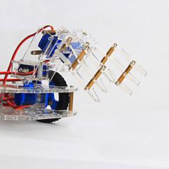 Χαμηλού Κόστους -καβούρι βασίλειο 4 dof τρισδιάστατη περιστροφή μηχανικό βραχίονα 99 ρομπότ δομή κιτ DIY διδασκαλίας