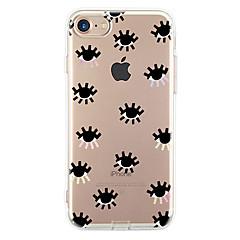 Käyttötarkoitus iPhone X iPhone 8 iPhone 7 iPhone 7 Plus iPhone 6 kotelot kuoret Ultraohut Kuvio Takakuori Etui Tiili Pehmeä TPU varten