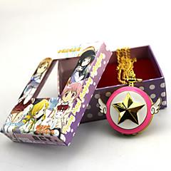 halpa Anime Cosplay-Kello/Rannekello Innoittamana Puella Magi Madoka Magica Zen Anime Cosplay-Tarvikkeet Kello/Rannekello Kulta Metalliseos Naaras