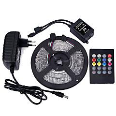 preiswerte LED Lichtstreifen-Lichtsets 300 LEDs RGB Fernbedienungskontrolle Schneidbar Abblendbar Wasserfest Farbwechsel Selbstklebend Für Fahrzeuge geeignet