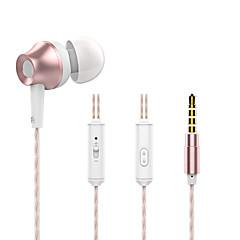 langsdom m299 metall tung bas hörlurar med mikrofon oberoende av varandra tråd linje stereomusik hörlurar för iphone samsung Huawei Xiaomi