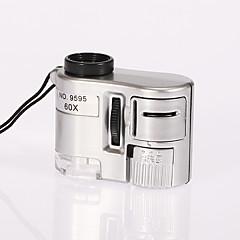 Microscópio Brinquedos Metal Glamouroso e Dramático Criativo 1 Peças Dia da Criança Dom