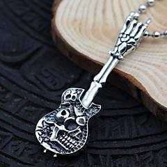 Муж. Женский Ожерелья с подвесками Ожерелья-цепочки Воротничок Бижутерия Стерлинговое серебро Одинарная цепочка В форме черепаБазовый