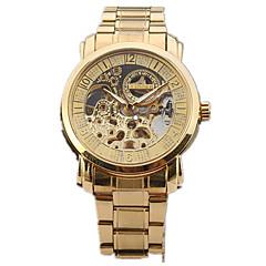 Męskie Sportowy Do sukni/garnituru Modny Zegarek na nadgarstek zegarek mechaniczny Nakręcanie automatyczne Grawerowane Duża tarcza