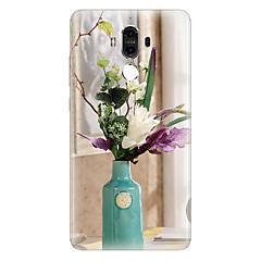Для С узором Кейс для Задняя крышка Кейс для Цветы Мягкий TPU для Huawei Huawei Mate 9 Huawei Mate 8