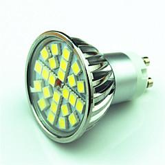 4W GU10 LED Spotlight MR16 24 SMD 5050 200-250 lm Warm White Cold White K Dimmable AC220 V