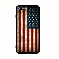 For Mønster Etui Bagcover Etui Flag Hårdt Akryl for AppleiPhone 7 Plus iPhone 7 iPhone 6s Plus iPhone 6 Plus iPhone 6s iPhone 6 iPhone
