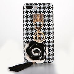 Недорогие Кейсы для iPhone 7-Кейс для Назначение Apple iPhone 7 Plus iPhone 7 IMD Своими руками Кейс на заднюю панель Цветы Мягкий ТПУ для iPhone 7 Plus iPhone 7