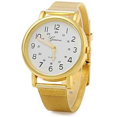 お買い得  大特価腕時計-JUBAOLI 男性用 リストウォッチ カジュアルウォッチ 合金 バンド カジュアル / ファッション / エレガント ゴールド