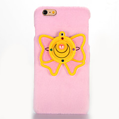 Для Зеркальная поверхность Своими руками Кейс для Задняя крышка Кейс для Бабочка Твердый Текстиль для AppleiPhone 7 Plus iPhone 7 iPhone