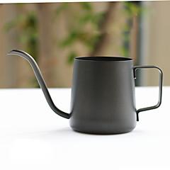 350 ml Paslanmaz Çelik Kahve Isıtıcı , 3 su bardağı Brew Coffee Maker Yeniden kullanılabilir