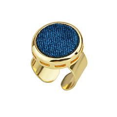 preiswerte Ringe-Damen Statement-Ring - Aleación Modisch Eine Größe Schwarz / Rot / Blau Für Alltag