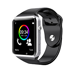 halpa Älykellot-Smart Watch Kosketusnäyttö Askelmittarit Urheilu Activity Tracker Sleep Tracker Sekunttikello Löydä laitteeni Herätyskello Community