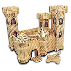 preiswerte -Holzpuzzle Burg Berühmte Gebäude Chinesische Architektur Haus Profi Level Holz Weihnachten Valentinstag Kindertag