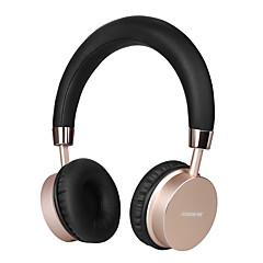 お買い得  ヘッドセット、ヘッドホン-K5 耳に ヘアバンド ワイヤレス ヘッドホン 動的 Aluminum Alloy 携帯電話 イヤホン ノイズアイソレーション マイク付き ボリュームコントロール付き ヘッドセット