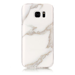 Mert IMD Case Hátlap Case Márvány Puha TPU mert Samsung S7 edge S7 S6 edge S6 S5 S4 S3