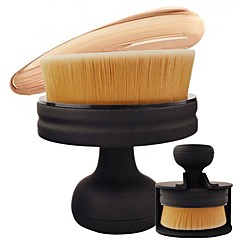 1 Blushkwast Concealerkwast Foundationkwast Contour Brush Synthetisch haar Professioneel Reizen Milieuvriendelijk Draagbaar Hars Gezicht