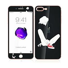 для Apple Iphone 7 4.7 закаленное стекло с передним мягким краем покрытия экрана полный и задний протектор экрана шаблона Sexy Lady