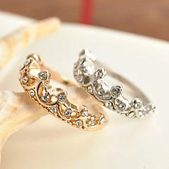 preiswerte Ringe-Damen Ring - Zirkon, Aleación Prinzessin Klassisch 5 / 6 / 7 Gold / Silber Für Hochzeit Party Besondere Anlässe