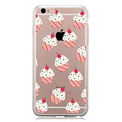 voordelige iPhone-hoesjes-Voor Patroon hoesje Achterkantje hoesje Tegels Zacht TPU voor AppleiPhone 7 Plus iPhone 7 iPhone 6s Plus/6 Plus iPhone 6s/6 iPhone