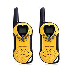 T5 2 stuks 22 kanaals UHF walkie talkie met LCD-scherm