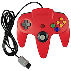 cheap Wii Accessories-Wired Controller  for Nintendo N64 Console (Multicolor)