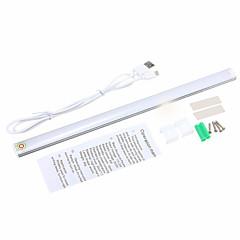 halpa LED-kaappivalot-youoklight 1kpl 3W DC5V 1a 30cm lämmin valkoinen / kylmä valkoinen himmennettävä led baari valo usb kosketusanturi led nauhat valo kaappi