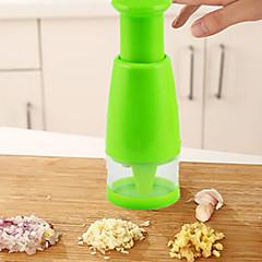 1 stuks Sjalot Knoflook Ui Gember Cutter & Slicer For voor Vegetable Voor kookgerei Kunststof Hoge kwaliteit Creative Kitchen Gadget