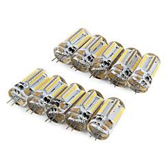 preiswerte LED-Birnen-10 Stück 210lm G4 LED Mais-Birnen T 64 LED-Perlen SMD 3014 Warmes Weiß Kühles Weiß 220-240V