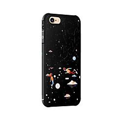 Назначение iPhone X iPhone 8 Чехлы панели Защита от удара С узором Задняя крышка Кейс для Цвет неба Пейзаж Мягкий Силикон для Apple