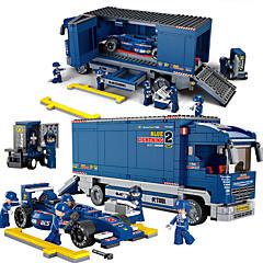 tanie -Sluban Sluban Samochodziki do zabawy Klocki Zabawki Budowlane Zabawki Formuła 1 Wyścigówka Zabawki Samochód Chłopcy Dla chłopców 641 Sztuk