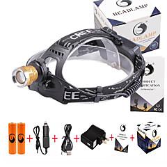 U'King Hoofdlampen Koplamp LED 3000 lm 4.0 Modus Cree XP-E R2 Verstelbare focus Compact formaat Vals geld detector Gemakkelijk draagbaar