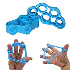 abordables Hand Grips-Agarre Con 1 pcs Caucho Ajustable Túnel Carpiano, Dedo de Gatillo, Ejercicios para los dedos, Entrenamiento de fuerza por Fitness / Gimnasia / Rutina de ejercicio