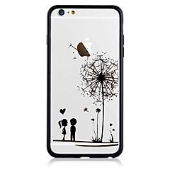 Voor Patroon hoesje Achterkantje hoesje Paardenbloem Hard Acryl voor AppleiPhone 7 Plus iPhone 7 iPhone 6s Plus iPhone 6 Plus iPhone 6s