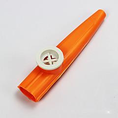 plastic rood / blauw / paars / groen / geel kazoo voor kinderen muziekinstrumenten speelgoed