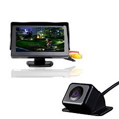 Недорогие Автоэлектроника-4.3T+630 720p Автомобильный видеорегистратор 170° Широкий угол 4.3inch Капюшон с Водонепроницаемый Автомобильный рекордер