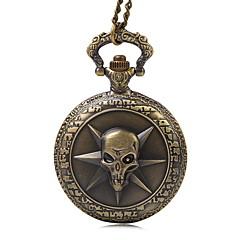 preiswerte Tolle Angebote auf Uhren-Herrn Quartz Taschenuhr Armbanduhren für den Alltag Stoff Band Retro Bronze Rose