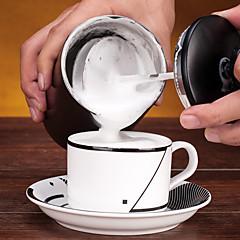 # ml Rozsdamentes acél tejhabosító , Drip Coffee Készítő Újrahasznosítható