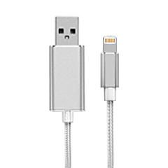 preiswerte USB Speicherkarten-luv mfi Apfel zertifiziert u Festplatte Flash-Laufwerk mit Ladekabel 32g
