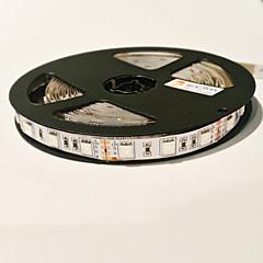 お買い得  LED ストリングライト-0.3m / 5m 成長するストリップライト 300 LED 5050 SMD レッド / ブルー カット可能 / 接続可 / ノンテープ・タイプ 12 V / #
