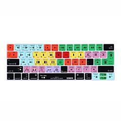baratos -xskn® media ávidos atalho compositor pele teclado de silicone para 2016 novo MacBook Pro de 13,3 / 15,4 com retina barra de toque (US /
