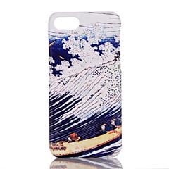Недорогие Кейсы для iPhone 6 Plus-Кейс для Назначение Apple iPhone 7 Plus iPhone 7 Ультратонкий С узором Кейс на заднюю панель Пейзаж Твердый ПК для iPhone 7 Plus iPhone 7